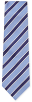 Z Zegna Striped Silk Tie