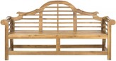 The Well Appointed House Lutyens Bench in Natural Finish