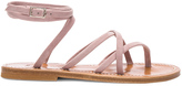 K. Jacques Suede Zenobie Sandals