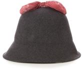 Federica Moretti Olivia wool-felt hat