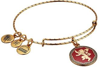 Alex and Ani Game of Thrones, Hear Me Roar Charm Bangle (Rafaelian Gold) Bracelet