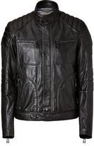 Belstaff Black Leather Weybridge Jacket