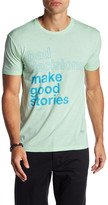 Kinetix Bad Decisions Make Good Stories Front Graphic Print Tee