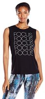 Lucy Women's Graphic Tank-Focus