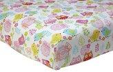 NoJo Love Birds 100% Cotton Crib Sheet by