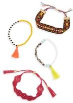 BaubleBar Women's Pomai Set Of 4 Bracelets