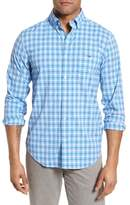 Vineyard Vines Lyford Cay Classic Fit Stretch Check Sport Shirt