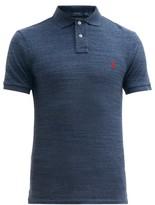 Polo Ralph Lauren - Slim Fit Cotton Pique Polo Shirt - Mens - Blue
