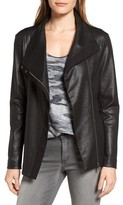 Vince Camuto Women's Coated Ponte Knit Moto Jacket