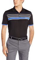 Izod Men's Short-Sleeve Tip Top Engineered-Stripe Golf Polo Shirt