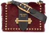 Prada Calf hair Cahier shoulder bag