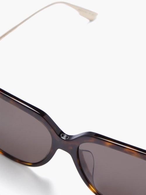 Thumbnail for your product : Christian Dior Diorlink D-frame Tortoiseshell-acetate Sunglasses - Tortoiseshell
