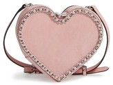 Rebecca Minkoff Chain Heart Crossbody Bag - Purple