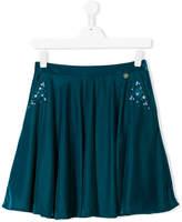 Lanvin Petite embellished pleated skirt