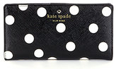 Kate Spade Cedar Street Stacy Dotted Continental Wallet