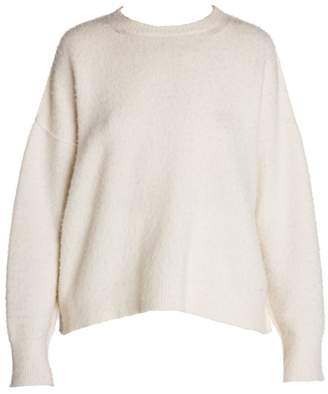 Marni Boucle Wool Drop Shoulder Sweater