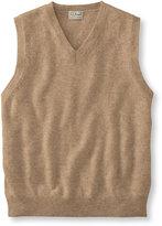 L.L. Bean Cashmere Sweater, V-Neck Vest