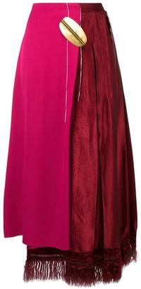 Marni Asymmetric High-Waisted Skirt