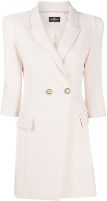 Elisabetta Franchi Double-Breasted Blazer Dress