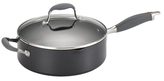 Anolon 4QT. Advanced Hard Anodize Non-Stick Covered Saute Pan