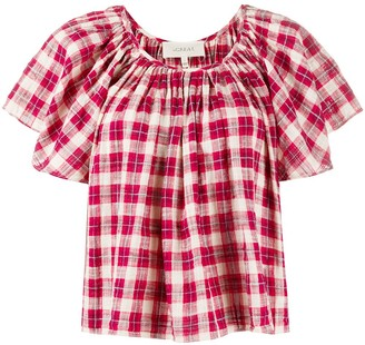 The Great Tartan Print Top