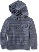 Old Navy Henley Hoodie for Toddler