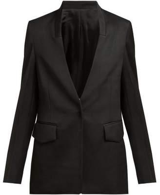 Joseph Barr Single Breasted Tailored Jacket - Womens - Black
