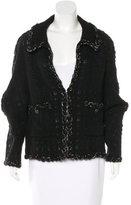 Chanel Metallic Wool Jacket