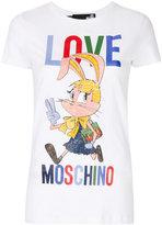 Love Moschino cartoon logo T-shirt