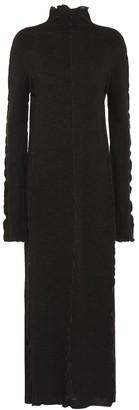Jil Sander Wool midi sweater dress