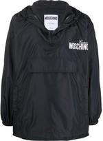 Moschino logo print lightweight jacket