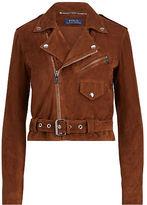 Polo Ralph Lauren Suede Moto Jacket