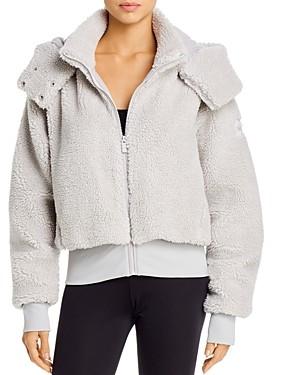 Alo Yoga Foxy Sherpa Hooded Jacket