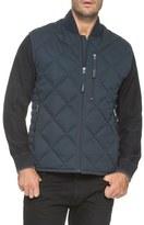 Andrew Marc Men's Water Resistant Quilted Down Vest
