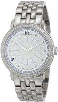 88 Rue du Rhone Women's 87WA120062 Stainless Steel Watch with Diamonds