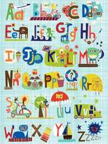 Oopsy Daisy Fine Art For Kids Critters Cars and Creatures by Carolyn Gavin Canvas Wall Art, 18 by 24-Inch
