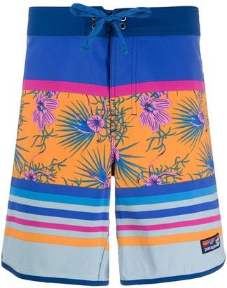 Patagonia Mix Print Bermuda Shorts