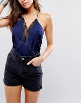 Asos Crystal Drop Body Harness