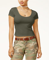 American Rag Juniors' Convertible Strappy Keyhole Top, Only at Macy's