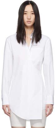 Off-White White Wrap Shirt