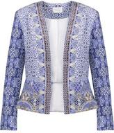 Camilla Crystal-Embellished Printed Cotton-Blend Jacket