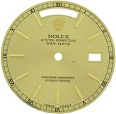 Rolex Day-Date President 118238 28 mm en Color Dial for 36 mm Men's Watch