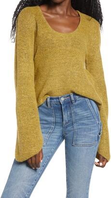 Ten Sixty Sherman Scoop Neck Sweater