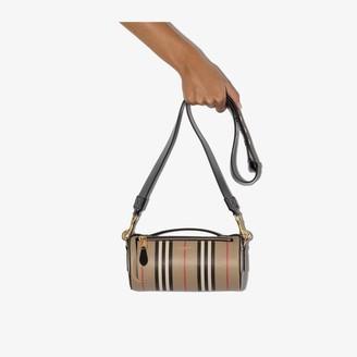 Burberry The Vintage Check barrel bag