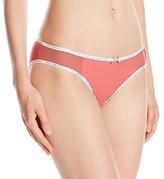 Tommy Hilfiger Women's Ttommy Micro and Mesh Bikini Panty