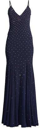 Jovani Embellished Jersey Gown