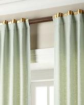 """Home Silks Each 52""""W x 108""""L Hudson Metallic-Band Curtain"""