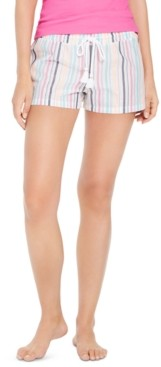 Jenni Jennie Metallic Striped Pajama Shorts, Created for Macy's
