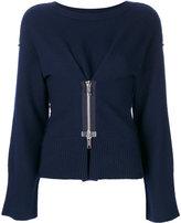 Dondup zipped front jumper