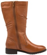 Thumbnail for your product : Supersoft By Diana Ferrari Ezra Dark Tan Knee High Boot